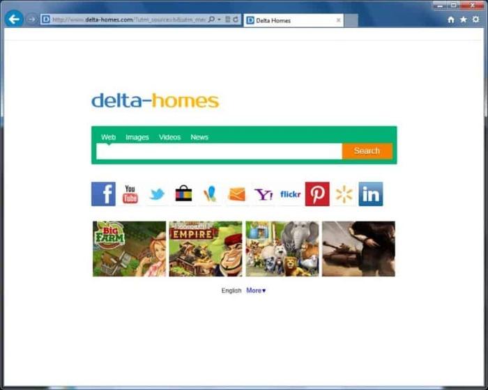 Delta Home web