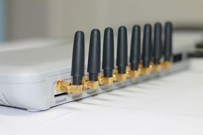 Router vulnerable puerto