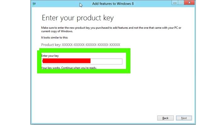 Cómo ver la clave de activación de Windows 10 1