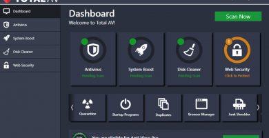 Análisis del antivirus TotalAV 2021
